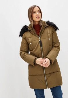 Куртка утепленная, Piazza Italia, цвет: хаки. Артикул: PI022EWHFVO1.