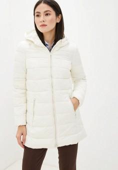 Куртка утепленная, Piazza Italia, цвет: белый. Артикул: PI022EWHFVQ5.
