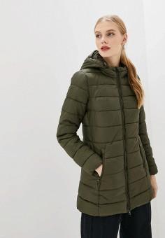 Куртка утепленная, Piazza Italia, цвет: хаки. Артикул: PI022EWHFVQ7.
