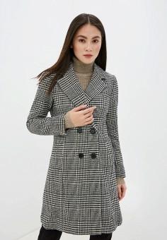 Пальто, Piazza Italia, цвет: серый. Артикул: PI022EWHFVR8.