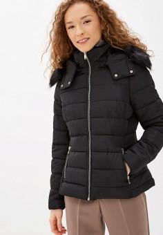 Куртка утепленная, Piazza Italia, цвет: черный. Артикул: PI022EWHHSB8.