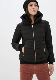 Куртка утепленная, Piazza Italia, цвет: черный. Артикул: PI022EWHHSB9.