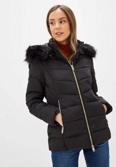 Куртка утепленная, Piazza Italia, цвет: черный. Артикул: PI022EWHHSC7.