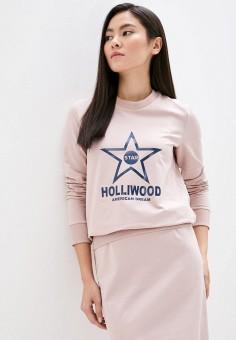 Свитшот, Pink Frost, цвет: бежевый. Артикул: PI023EWJBEM4. Одежда / Толстовки и свитшоты