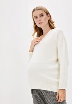 Пуловер, Pietro Brunelli Maternity, цвет: белый. Артикул: PI032EWKDPD2. Одежда / Одежда для беременных