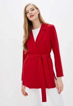 Жакет, Pimkie, цвет: красный. Артикул: PI033EWIGKI8. Одежда / Пиджаки и костюмы