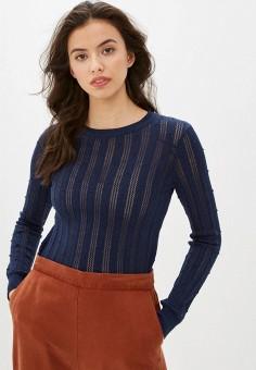 Джемпер, Pimkie, цвет: синий. Артикул: PI033EWIGKM1. Одежда / Джемперы, свитеры и кардиганы / Джемперы и пуловеры / Джемперы
