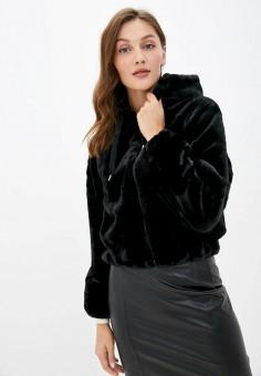 Шуба, Pimkie, цвет: черный. Артикул: PI033EWJRME9. Одежда / Верхняя одежда / Шубы и дубленки