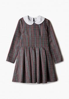 Платье, Pink Kids, цвет: серый. Артикул: PI034EGJVCH3. Девочкам / Одежда / Платья и сарафаны