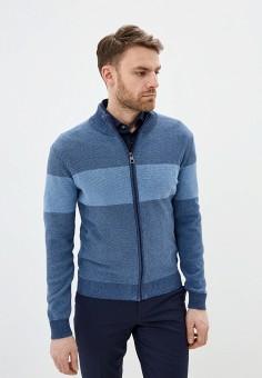 Кардиган, Pierre Cardin, цвет: синий. Артикул: PI365EMIFPF7. Одежда / Джемперы, свитеры и кардиганы / Кардиганы
