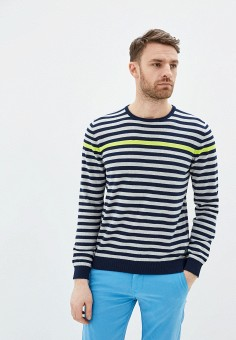Джемпер, Pierre Cardin, цвет: мультиколор. Артикул: PI365EMIFPF8. Одежда / Джемперы, свитеры и кардиганы / Джемперы и пуловеры
