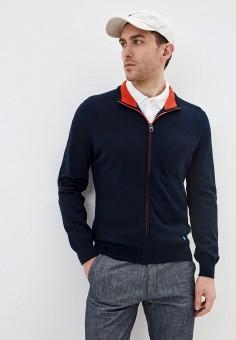 Кардиган, Pierre Cardin, цвет: синий. Артикул: PI365EMIFPG0. Одежда / Джемперы, свитеры и кардиганы / Кардиганы