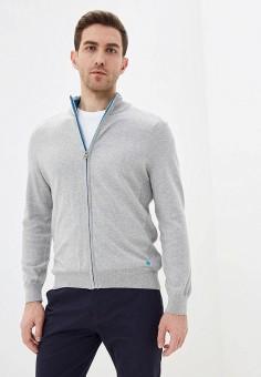 Кардиган, Pierre Cardin, цвет: серый. Артикул: PI365EMIFPG1. Одежда / Джемперы, свитеры и кардиганы / Кардиганы