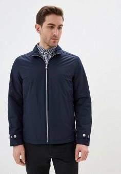 Куртка утепленная, Pierre Cardin, цвет: синий. Артикул: PI365EMIFPI0. Одежда / Верхняя одежда / Демисезонные куртки