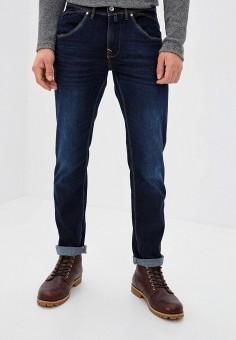 Джинсы, Pierre Cardin, цвет: синий. Артикул: PI365EMKKDC1. Одежда / Джинсы / Зауженные джинсы