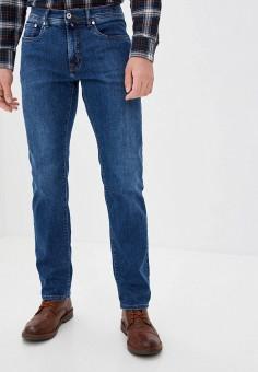 Джинсы, Pierre Cardin, цвет: синий. Артикул: PI365EMKKDC3. Одежда / Джинсы / Прямые джинсы
