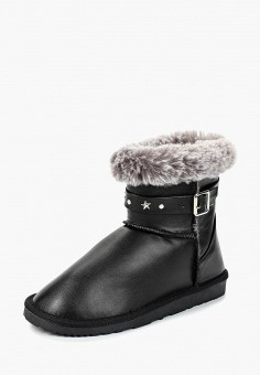 Полусапоги, Pieces, цвет: черный. Артикул: PI752AWCAYG2. Обувь / Сапоги / Полусапоги