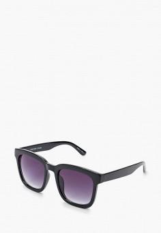 Очки солнцезащитные, Pieces, цвет: черный. Артикул: PI752DWHSYD7. Аксессуары / Очки