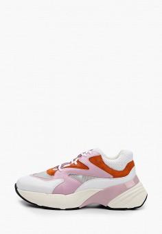 Кроссовки, Pinko, цвет: розовый. Артикул: PI754AWGIEO6.