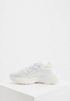 Кроссовки, Pinko, цвет: белый. Артикул: PI754AWISGI4. Обувь / Кроссовки и кеды