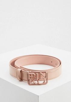 Ремень, Pinko, цвет: розовый. Артикул: PI754DWJVNW9.