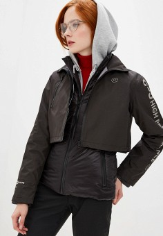 Куртка утепленная, Pinko, цвет: черный. Артикул: PI754EWFTYI1.