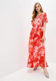 Платье, Pinko, цвет: красный. Артикул: PI754EWHZNK9.
