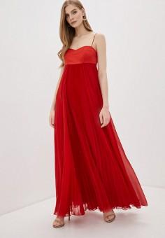 Платье, Pinko, цвет: красный. Артикул: PI754EWHZNL0. Одежда / Платья и сарафаны / Вечерние платья