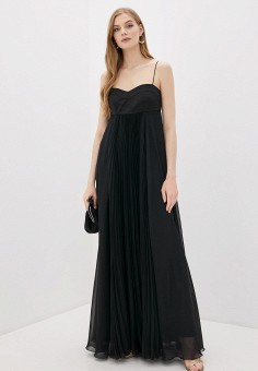 Платье, Pinko, цвет: черный. Артикул: PI754EWHZNL1. Одежда / Платья и сарафаны / Вечерние платья