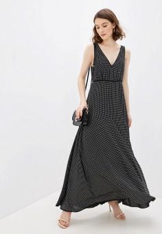 Платье, Pinko, цвет: черный. Артикул: PI754EWHZNL3. Одежда / Платья и сарафаны / Вечерние платья