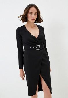 Платье, Pinko, цвет: черный. Артикул: PI754EWJSHX2.