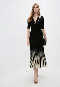 Платье, Pinko, цвет: черный. Артикул: PI754EWJVOJ9.