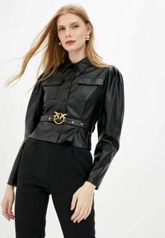 Блуза, Pinko, цвет: черный. Артикул: PI754EWJVOO6.