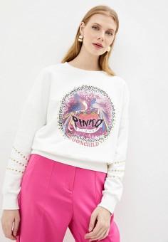 Свитшот, Pinko, цвет: белый. Артикул: PI754EWJVPB4.
