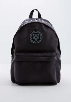 Рюкзак, Plein Sport, цвет: черный. Артикул: PL007BMFVZO3. Аксессуары / Рюкзаки
