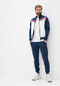 Костюм спортивный, Plein Sport, цвет: синий. Артикул: PL007EMKDXF3. Одежда / Спортивные костюмы