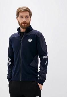 Кардиган, Plein Sport, цвет: синий. Артикул: PL007EMKDXI5. Одежда / Джемперы, свитеры и кардиганы / Кардиганы