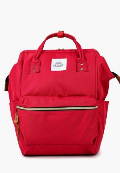 Рюкзак, Polar, цвет: бордовый. Артикул: PO001BUBZYV0. Аксессуары / Рюкзаки