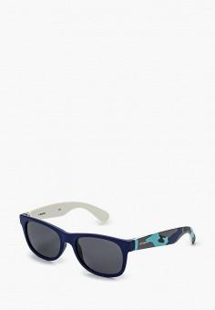 Очки солнцезащитные, Polaroid, цвет: синий. Артикул: PO003DBHYN12. Девочкам / Аксессуары