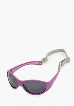 Очки солнцезащитные, Polaroid, цвет: фиолетовый. Артикул: PO003DGJCQU0. Девочкам / Аксессуары