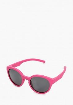 Очки солнцезащитные, Polaroid, цвет: розовый. Артикул: PO003DGJCQU5. Девочкам / Аксессуары
