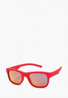 Очки солнцезащитные, Polaroid, цвет: красный. Артикул: PO003DGJCQU9. Девочкам / Аксессуары