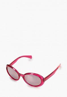 Очки солнцезащитные, Polaroid, цвет: красный. Артикул: PO003DGJCZO2. Девочкам / Аксессуары