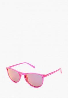 Очки солнцезащитные, Polaroid, цвет: розовый. Артикул: PO003DGUCX49. Девочкам / Аксессуары