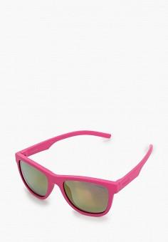 Очки солнцезащитные, Polaroid, цвет: розовый. Артикул: PO003DGUCX51. Девочкам / Аксессуары