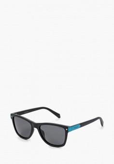 Очки солнцезащитные, Polaroid, цвет: черный. Артикул: PO003DKABWM2. Девочкам / Аксессуары