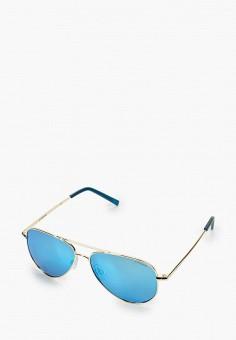 Очки солнцезащитные, Polaroid, цвет: золотой. Артикул: PO003DKJCQU3. Девочкам / Аксессуары