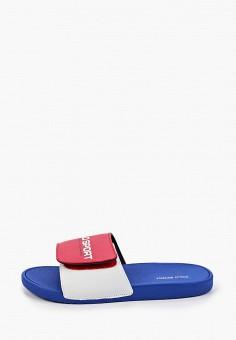 Сланцы, Polo Ralph Lauren, цвет: красный. Артикул: PO006ABIVCY5.