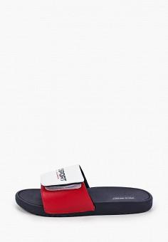 Сланцы, Polo Ralph Lauren, цвет: белый. Артикул: PO006ABIVCY6.