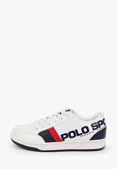 Кеды, Polo Ralph Lauren, цвет: белый. Артикул: PO006ABIVCZ2.